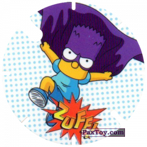 PaxToy.com - 15 Zuff! из Cheetos: Bartman TAZO (Spain)