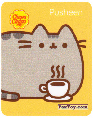 PaxToy.com - 16 Pusheen и горячая кружечка кофе из Chupa Chups: Pusheen