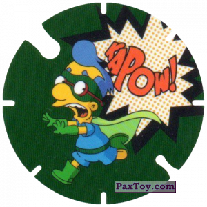 PaxToy.com - 17 Kapow из Cheetos: Bartman TAZO (Spain)