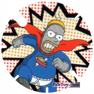 PaxToy.com - 19 Pieman из Cheetos: Bartman TAZO (Spain)