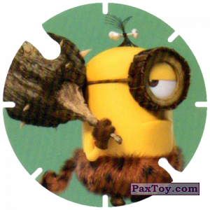 PaxToy.com - 22 Primitive Stuart with mace (Spain) из Cheetos: Minions