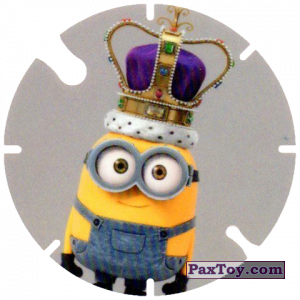 PaxToy.com - 24 Minion and English Crown (Spain) из Cheetos: Minions