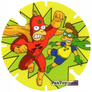 PaxToy.com - 24 Radioactive Man and Fallout Boy из Cheetos: Bartman TAZO (Spain)