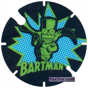 PaxToy.com - 25 Bartman из Cheetos: Bartman TAZO (Spain)