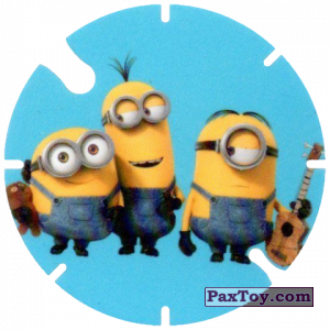 PaxToy.com - 25 Minions Musicians (Spain) из Cheetos: Minions