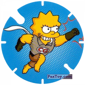 PaxToy.com - 26 CO из Cheetos: Bartman TAZO (Spain)