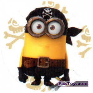 PaxToy.com - 26 Minion the Pirate (Spain) из Cheetos: Minions