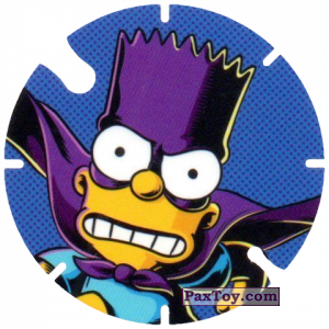 PaxToy.com - 29 Bartman из Cheetos: Bartman TAZO (Spain)