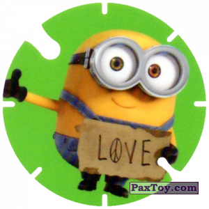 PaxToy.com - 29 Love (Spain) из Cheetos: Minions