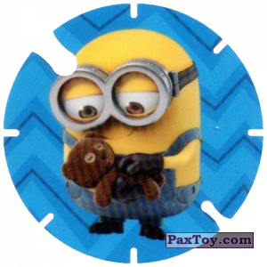 PaxToy.com - 30 Minion and Teddy Bear (Spain) из Cheetos: Minions