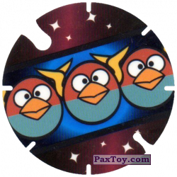 PaxToy.com - 33 Blue Birds - Bip-Bap-Bop из Cheetos: Angry Birds Space Tazo