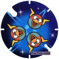 PaxToy.com - 38 Spzce Blue Birds - Bip-Bap-Bop из Cheetos: Angry Birds Space Tazo