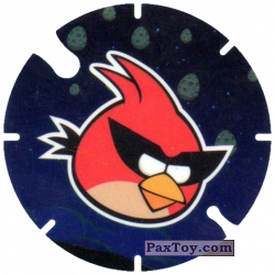 PaxToy.com - 40 Space Red Bird из Cheetos: Angry Birds Space Tazo