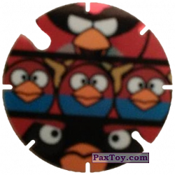 PaxToy.com - 45 Red, Bobm and Blue Birds из Cheetos: Angry Birds Space Tazo