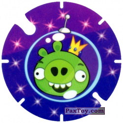 PaxToy.com - 46 Space King Pig из Cheetos: Angry Birds Space Tazo