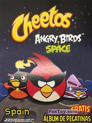 PaxToy Cheetos   2009 2014 Angry Birds Space Tazo (Испания) logo tax