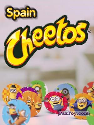 PaxToy Cheetos   2015 Minions (Испания) logo tax