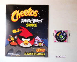 PaxToy Фото Материалы 01 Cheetos 2009 2014 Angry Birds Space Tazo (Испания)