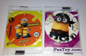 PaxToy Фото материалы   02 Cheetos   2015 Minions (Испания)