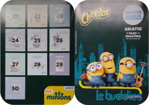PaxToy Фото материалы   04 Cheetos 2015 Minions (Spain)   Альбом 1