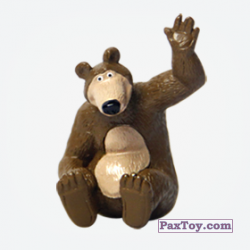 PaxToy 02 Миша (Маша и Медведь 1)