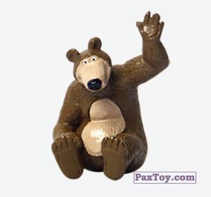 PaxToy.com - 02 Миша машет из Choco Balls: Маша и Медведь 1