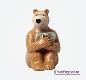 PaxToy.com - 03 Медведица из Choco Balls: Маша и Медведь 1