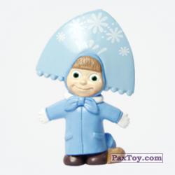 PaxToy 04 Маша в костюме Снегурочки (Маша и Медведь 1)