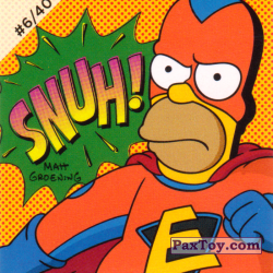 PaxToy #06 of 40 Homer Everyman   SNUH!