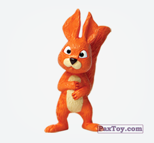 PaxToy.com  Игрушка, Фигурка 09 Белка из Choco Balls: Маша и Медведь 1