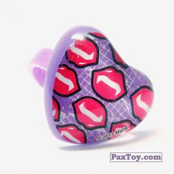 PaxToy 09 Кольцо штамп Сердце   Губки вампира (Monster High)