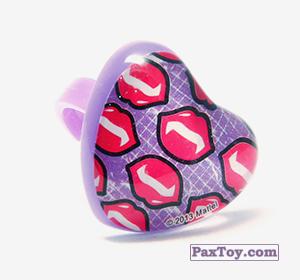 PaxToy.com - 09 Кольцо штамп Сердце - Губки вампира из Choco Balls: Monster High