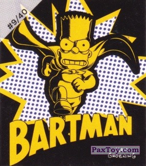PaxToy.com - #9 / 40 Dark Bartman из Cheetos: The Simpsons Bartman