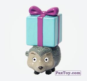 PaxToy.com - 10 Ёж с подарком из Choco Balls: Маша и Медведь 1