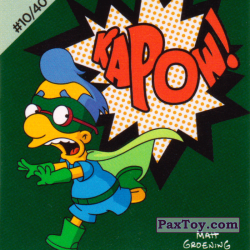 PaxToy #10 of 40 Milhouse Fall Out boy   Kapow
