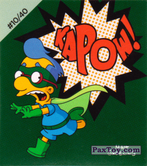 #10 / 40 Milhouse Fall Out boy - Kapow