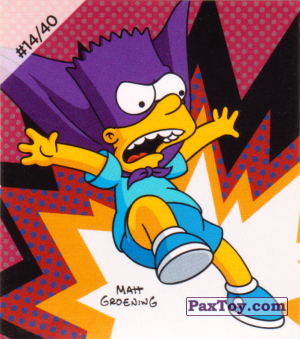 PaxToy.com - #14 / 40 Bartman из Cheetos: The Simpsons Bartman