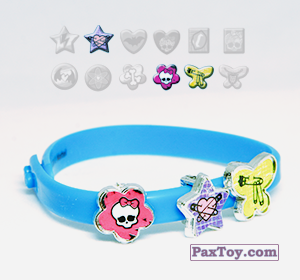 PaxToy.com - 16 Синий браслет из Choco Balls: Monster High