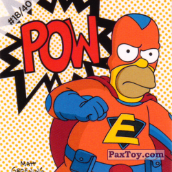 PaxToy #18 of 40 Homer Everyman   Pow