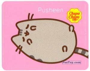 PaxToy.com - 19 Pusheen отдыхает на спинке из Chupa Chups: Pusheen