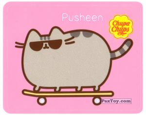 PaxToy.com - 20 Pusheen на скейте из Chupa Chups: Pusheen