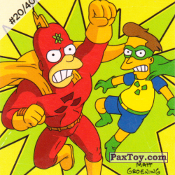 PaxToy #20 of 40 Radioactive Man and Fallout Boy