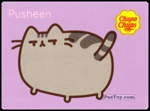 PaxToy.com - 21 Pusheen смотрит на хвост из Chupa Chups: Pusheen