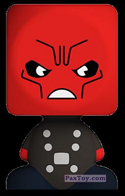 PaxToy.com - 23 Красный череп из Белмаркет: Время героев (Blokhedz)