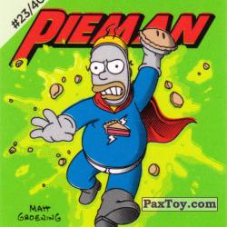 PaxToy #23 of 40 Pieman