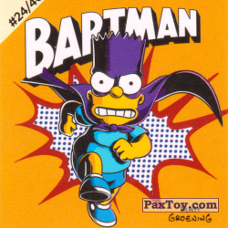 PaxToy #24 of 40 Bartman