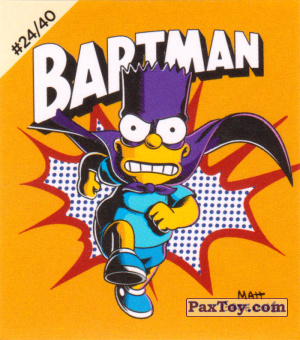 PaxToy.com - #24 / 40 Bartman из Cheetos: The Simpsons Bartman