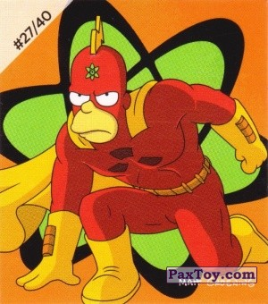 PaxToy.com - #27 / 40 Radioactive Man из Cheetos: The Simpsons Bartman