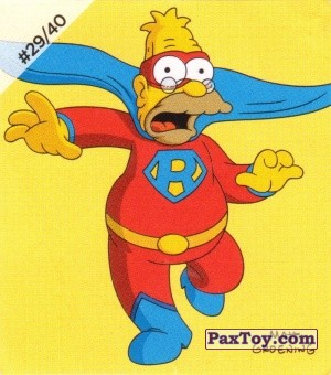 PaxToy.com - #29 / 40 The Rambler из Cheetos: The Simpsons Bartman