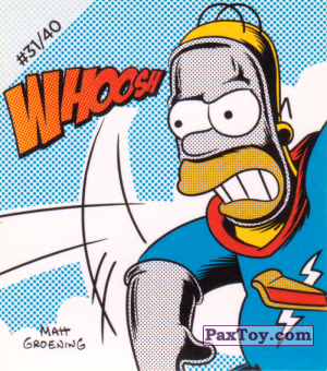 PaxToy.com - #31 / 40 Pieman - Whoosh из Cheetos: The Simpsons Bartman